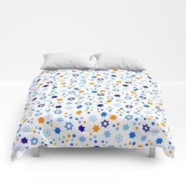 Very Hanukkah Pattern Comforters