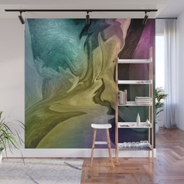 Liquid Abstract Wall Mural