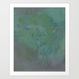 Amazing Grace Abstracted Painting Art Print
