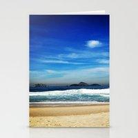 rio de janeiro Stationery Cards featuring Rio de Janeiro by lulindemann