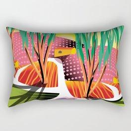 Sunset Curve Rectangular Pillow