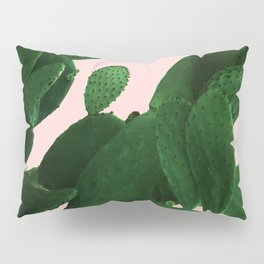Cactus On Pink Pillow Sham