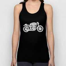 Norton Model 30 - Cafe Racer series #2 Unisex Tank Top