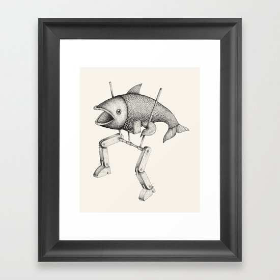 'Evolution I' Framed Art Print