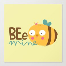 Bee Mine Canvas Print
