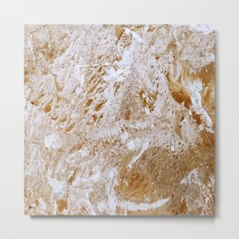 Stone surface 1 Metal Print