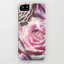 Roses are Pink iPhone Case