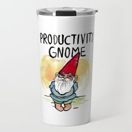 Productivity Gnome Travel Mug