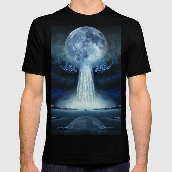 waterfall moon T-shirt