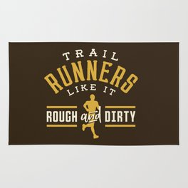 Trail Runners Like It Rough And Dirty Rug