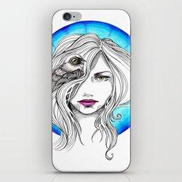 Bird Brain iPhone Skin