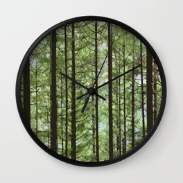 YOUNG FOREST Wall Clock