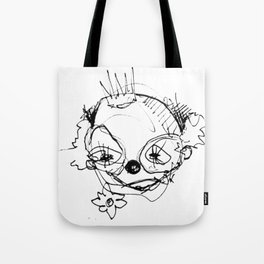 Clowns in Crowns #1 Tote Bag