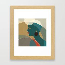 Venn Deco (Part I) Framed Art Print