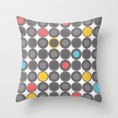 Grey Throw Pillow
