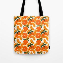 Orange Harvest - White Tote Bag