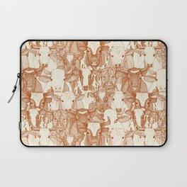 just ox rust pearl Laptop Sleeve