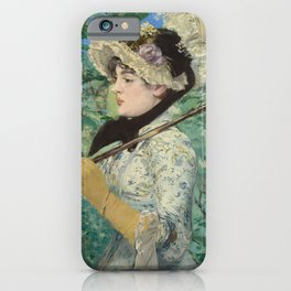Jeanne (Spring) - Edouard Manet iPhone Case