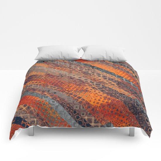 Orange Fantasy Comforters
