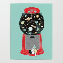 My childhood universe Poster