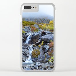 Independence Mine Waterfall Clear iPhone Case