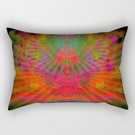 Love Radiation Meditation Rectangular Pillow