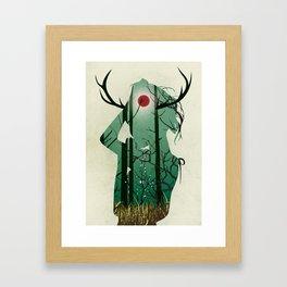 Nature Goddess Framed Art Print