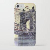 cincinnati iPhone & iPod Cases featuring Cincinnati by takmaj