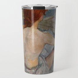 Henri De Toulouse Lautrec Rousse Travel Mug