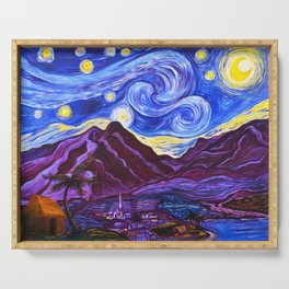 Maui Starry Night Serving Tray