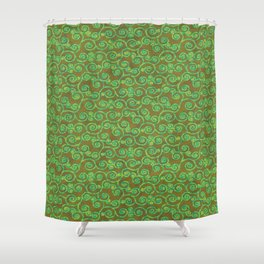 Patchouli Batik Shower Curtain