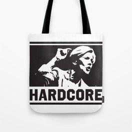 Hardcore Elizabeth Warren Tote Bag