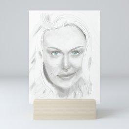 Woman 2 Mini Art Print