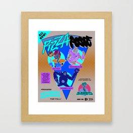 Pizza Posse Framed Art Print