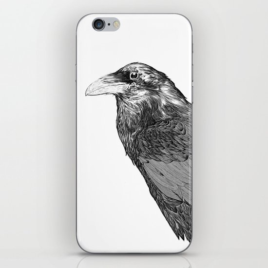Corvus Corax iPhone & iPod Skin
