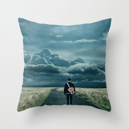 In Search of a Song Throw Pillow