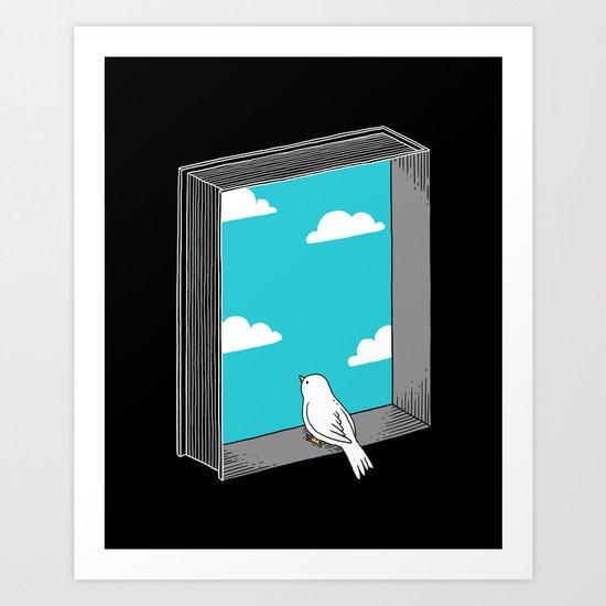 Every book a window Art Print