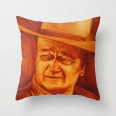 The Duke Throw Pillow
