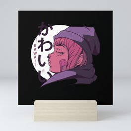 Kawaii Girl Mini Art Print