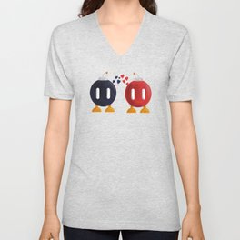 Bomb-Omb Love Unisex V-Neck