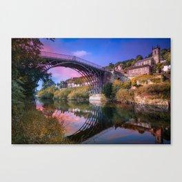 Iron Bridge 1779 Canvas Print