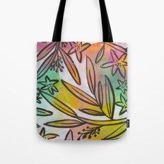 Bright Colorful Jungle Canopy Tote Bag