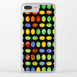 Jelly Beans Clear iPhone Case