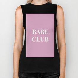 Babeclub pink Biker Tank