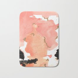 Calm Coral Daydreaming Bath Mat