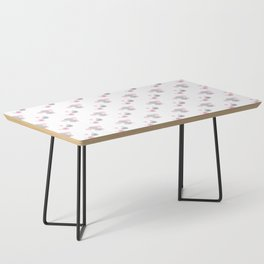 Pink Elephant Chickadee Bird Heart Coffee Table