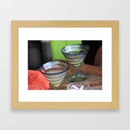 Margarita time  Framed Art Print