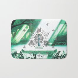 Zelda Shine Sword Bath Mat