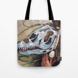 Bear Bones Tote Bag