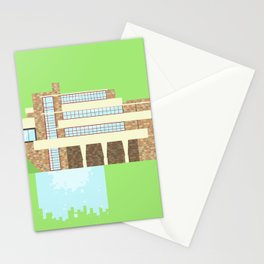 Iconic Houses - Fallingwater Stationery Cards